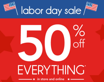 carters labor day sale