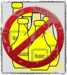 no more mustard