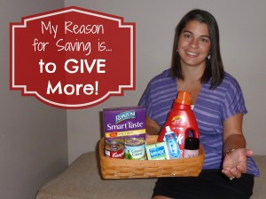 10,000 Reasons to Save contest.  See my reason on MissiontoSave.com #ReasontoSave