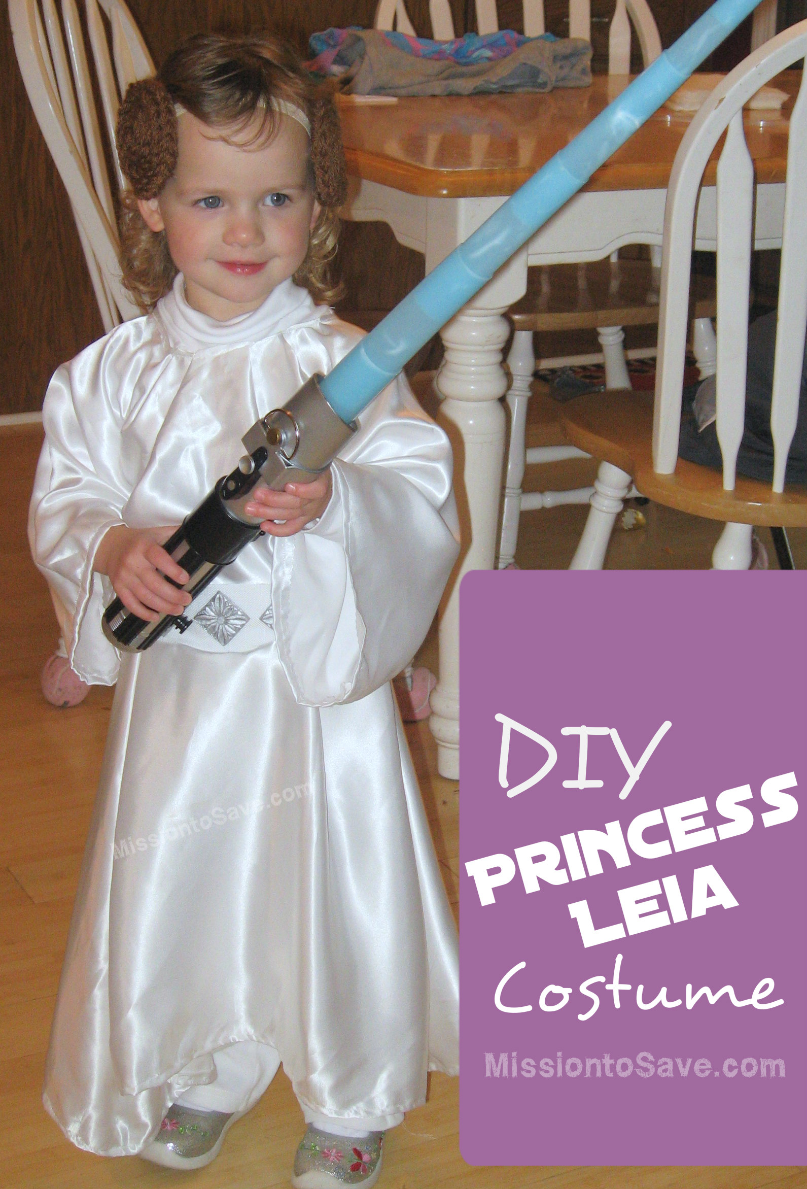 Diy Star Wars Costumes Jedi And Princess Leia Mission To Save