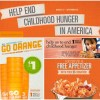 Dine Out for No Kid Hungry and Go Orange on 9/24 to Show Support of Hunger Awareness