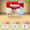 Walmart: Ibotta Huggies Deal- Diapers and Wipes for $3.19 Total!