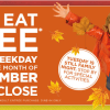 Bob Evans Kids Eat Free Weekday Nights in September