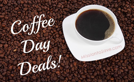 Coffee Day Deals for 2013! See them on MissiontoSave.com