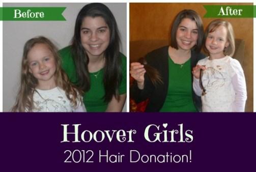 hoover girls hair doantion