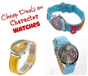 heap deals on character watches