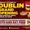 Grand Opening of Moe's Southwest Grill in Dublin, Kids Eat Free 10/15