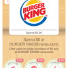 Flame Broiled Deal, $1 Off at Burger King Savings with Ibotta!
