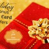 Tis the Season for Holiday Bonus Gift Card Offers 2019