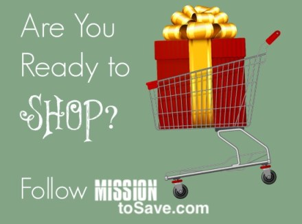 Follow MissiontoSave.com for tips on saving this Holiday Season!