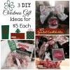 $5 DIY Christmas Gift Ideas