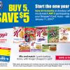 Kellogg's and Kriger Mega Sale