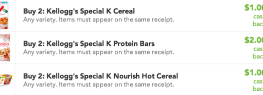 Kellogg's Savings on Checkout 51