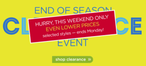 crocs end of season clearance