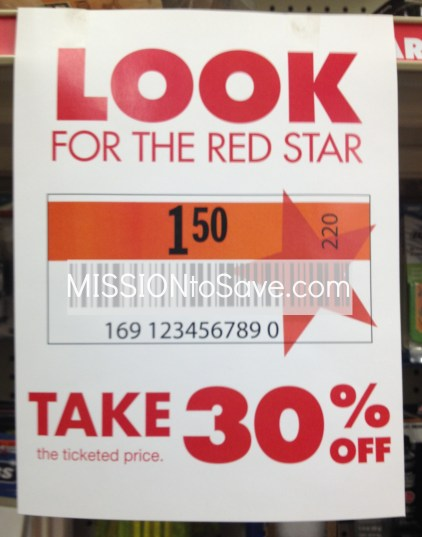 big lots red star clearance