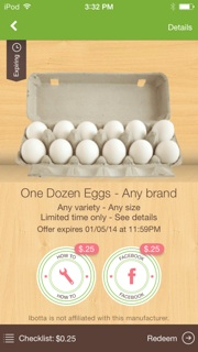 Ibotta egg savings