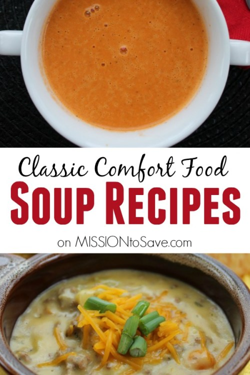 What is a more classic comfort food than soup- especially in the winter. Soup can also be a complete meal- packed with protein, veggies and more! Add a sammie or a salad and dinner is done. See this list of great soup recipes to add into your meal rotation (and memories).