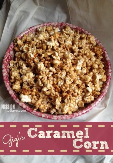Sweet Homemade Caramel Corn