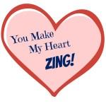 Zingers Valentine Printable Tags