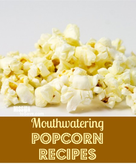 a roundup of mouthwatering popcorn recipes