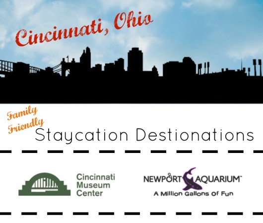 Cincinnati Staycation Destinations The Newport Aquarium and Cincinnati Museum Center