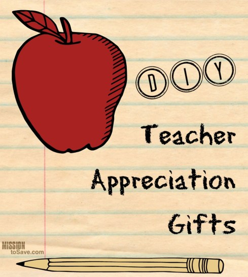 A great roundup of DIY Teacher Appreciation Gifts!