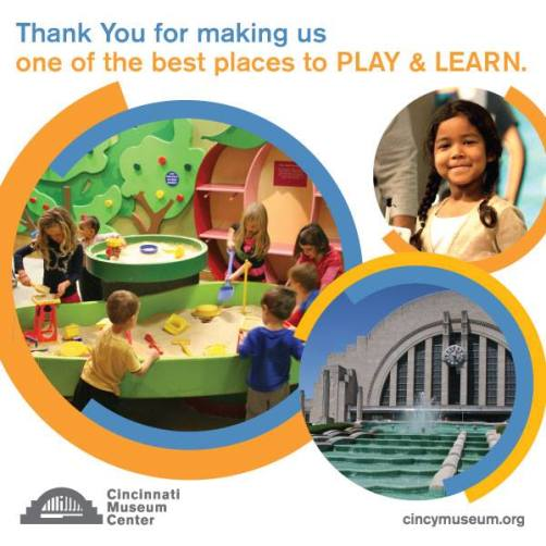 play and learn at the cincinnati museum center