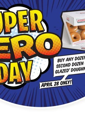 Krispy Kreme BOGO for Hero Appreciation Day
