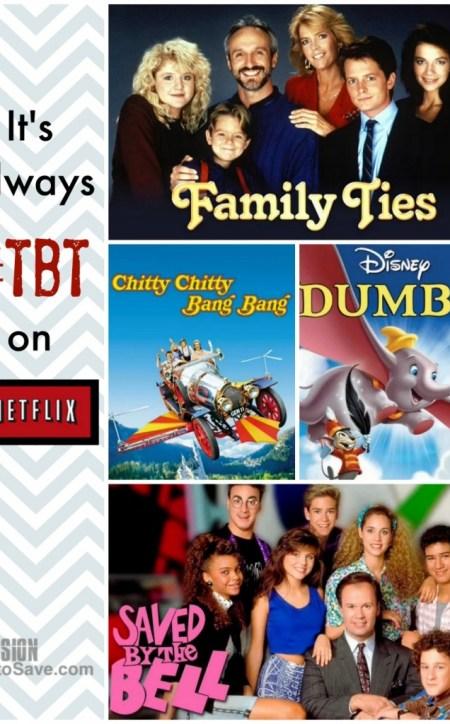 #tbt on Netflix
