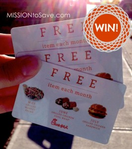 Enter to Win Chick-fil-A