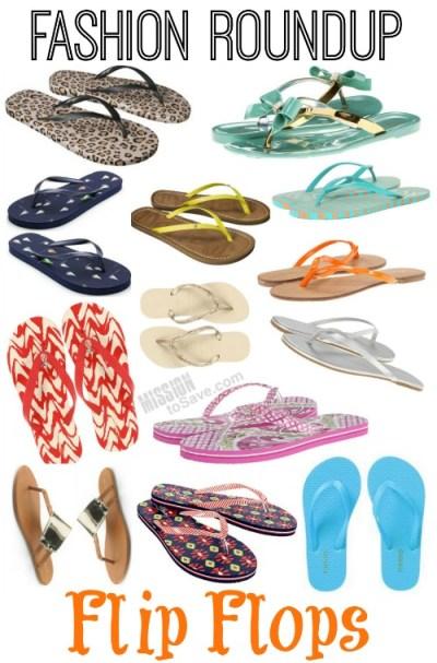 Fashion Roundup flip flops