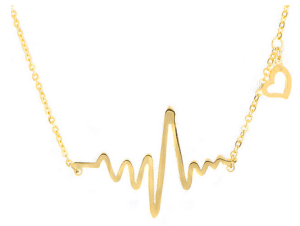 Sears heartbeat necklace