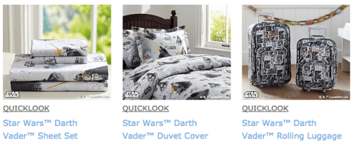 Star Wars Collection at Pottery Barn Kids