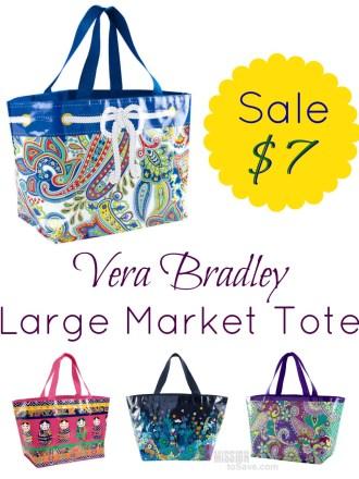 Vera Bradley Large Market Tote Sale