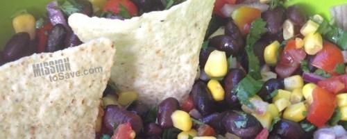 Check out this fresh Black Bean and Corn Salsa recipe.