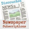 Find discounted newspaper subscriptions for 400 papers