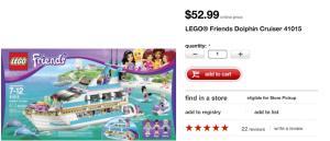 Lego Friends Dolphin Cruiser Target Online Price