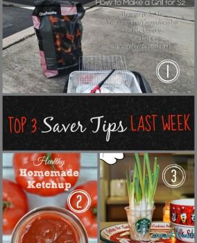 Top 3 Saver Tips  610