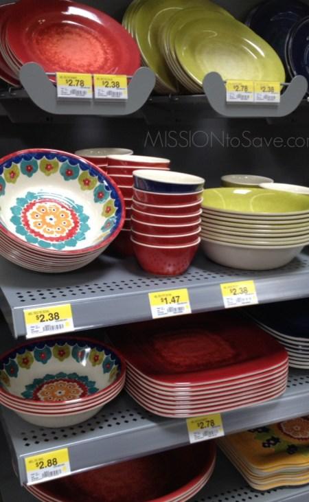 Housewares at Walmart