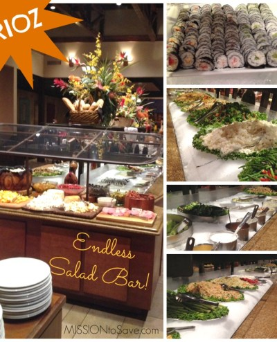 RIoz Endless Salad Bar
