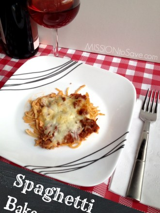 Spaghetti Bake Recipe- Great for Freezer Cooking and Busy Weeknight Dinners