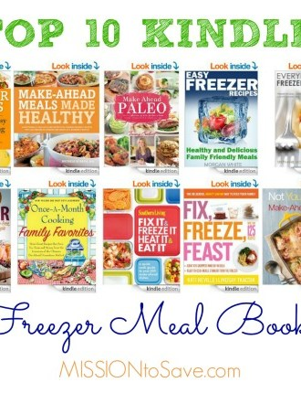 Top 10 Kindle Freezer Meal Books