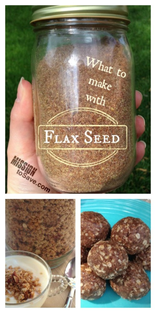 What to make with flax seed recipes
