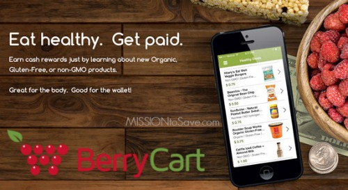 New BerryCart Savings App for Organic Products
