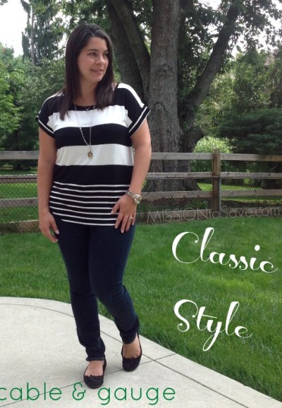 Classic style on Cable and Gauge