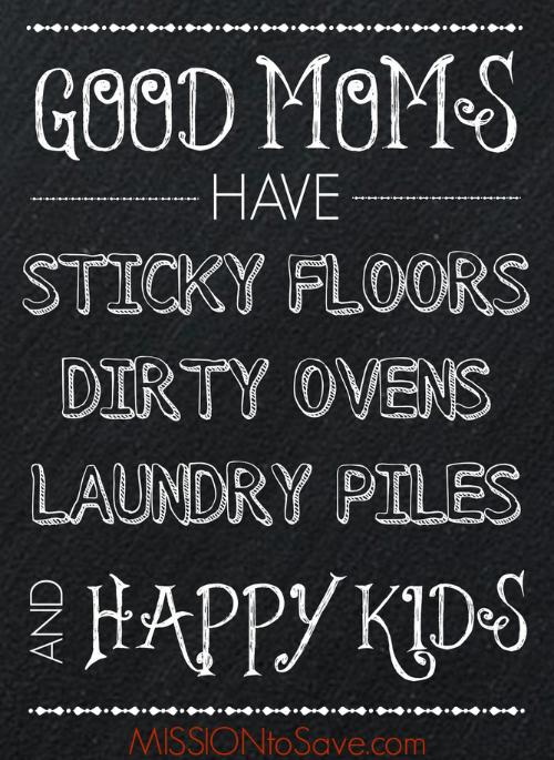 Good Moms Have Chalkboard Art Printable Mission To Save