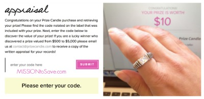 Prize Candle Ring Appraisal