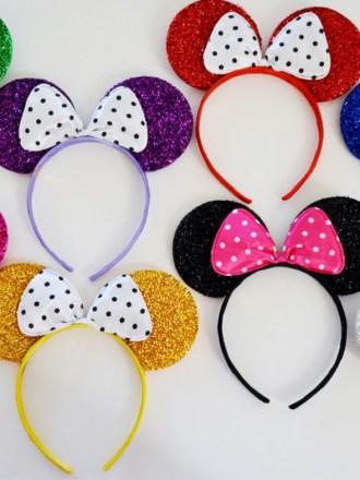 Fun glitter Mickey Mouse Ears Headband, just $2.99!!