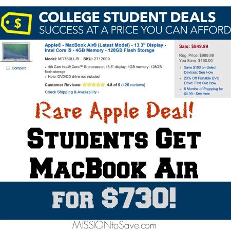 HOT MacBook Air Deal at Best Buy