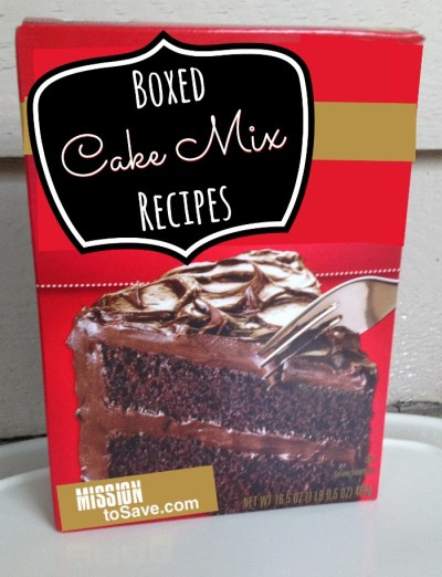 Boxed Cake Mix Recipes. Easy and delicious!